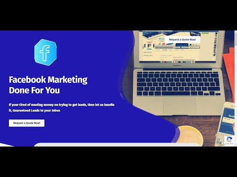 How To Run Facebook Ads 👉 Done For You Service