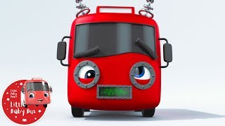 Little Baby Bus - Robots | Kids Cartoons | Children's Stories | Bus Videos | Bus Songs