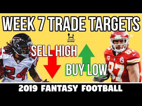 Week 7 Fantasy Football Trade Targets
