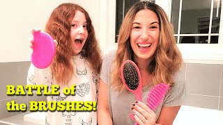 Every Mom Needs THIS Detangling Hair Brush! Wet Brush vs. Tangle Teezer vs. Conair Brush REVIEW