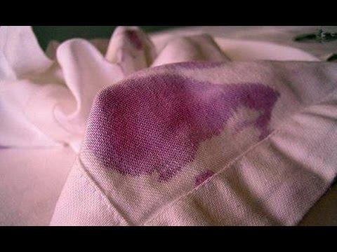 Легкий способ вывести  пятна с одежды - домашнее средство от пятен полезные советы| ed black