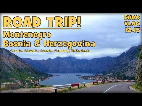 Road Trip Montenegro & Bosnia Herzegovina | TRAVEL VLOG EUROPE