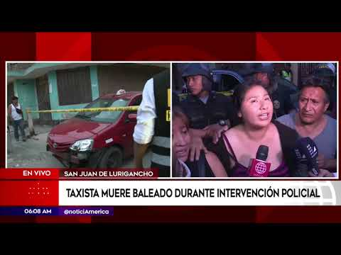 Taxista murió durante intervención policial