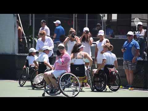 ITHF Wheelchair Tennis Clinic