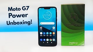 Moto G7 Power with Alexa - Unboxing and First Impressions!