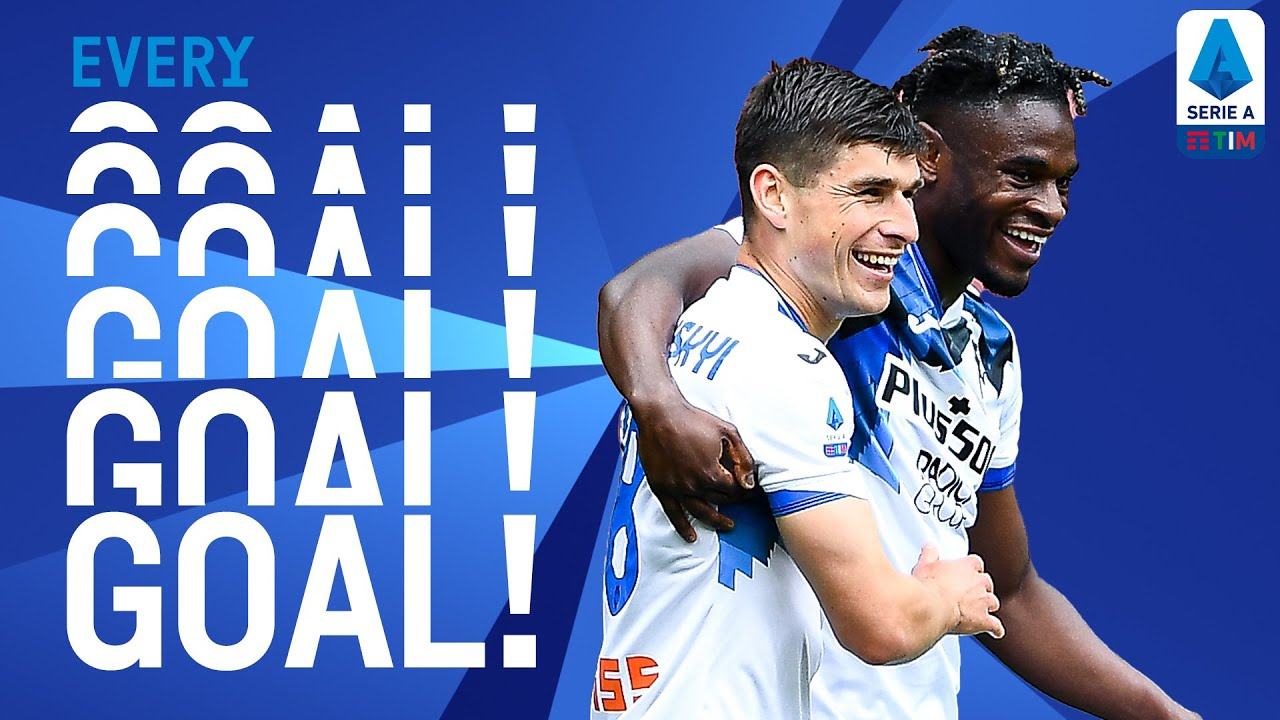 Juve still in chase as Atalanta secures Champions League spot! | EVERY Goal | Round 37 | Serie A TIM