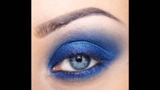 Макияж в синих тонах, дымчатый.wmv