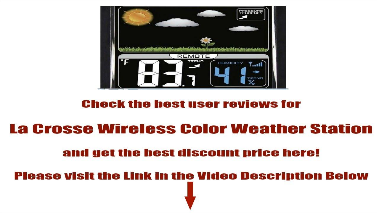 la crosse weather station s88907 manual