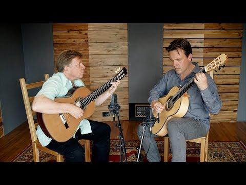 """Doug de Vries and Ken Murray play """"Running the Scree"""" (de Vries) on Altamira Concert Guitars"""