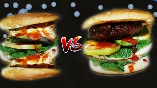 Egg Burger | How To make egg burger | How to make a burger | Best Burger Recipe