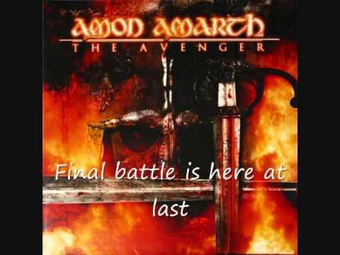 Amon Amarth - The last with pagan blood (With lyrics)