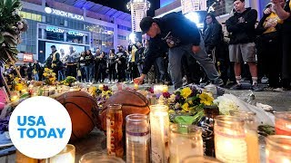 NBA fans react to the death of Kobe Bryant | USA TODAY