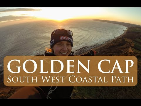 South West Coastal Path | A walk from Stonebarrow Hill to Golden Cap