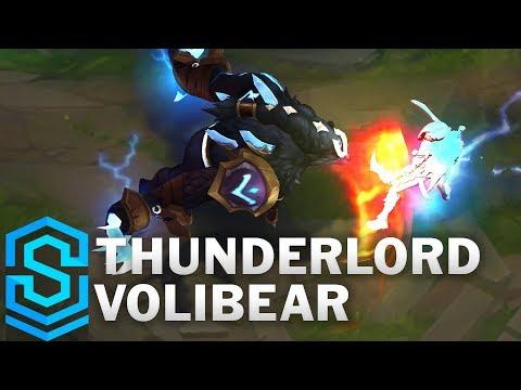 Thunderlord Volibear Skin Spotlight - Pre-Release - League of Legends