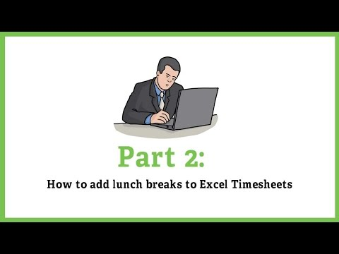 Part 2: How to Add Lunch Breaks - YouTube