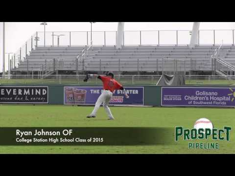 Ryan Johnson Prospect Video, OF, College Station High School Class of 2015
