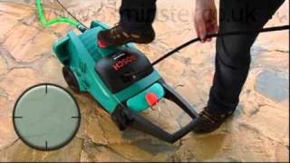 Bosch Aquatak Clic 125 Pressure Washer & Patio Cleaner