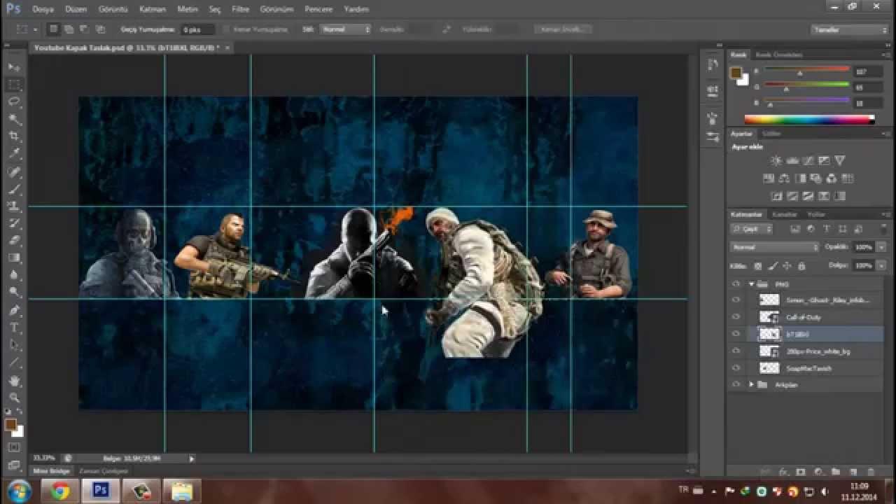 Call Of Duty Youtube Cover Template Speedart D File Youtube