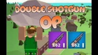Shotgun Only Challenge! ROBLOX Island Royale!