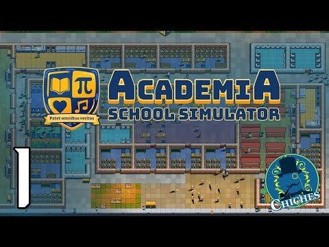 AcademiA: School Simulator  #1 ¿Qué es Academia?  | en español