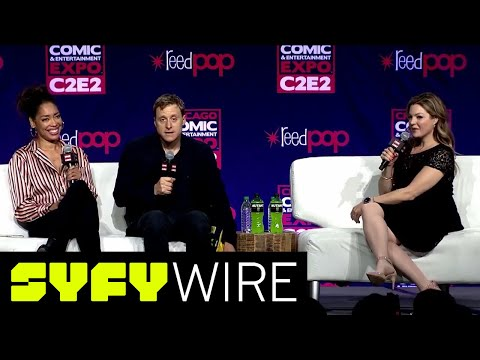 Firefly's Alan Tudyk And Gina Torres Leaves On The Wind Full Panel  C2E2  SYFY WIRE