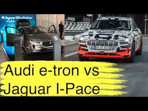 Audi e-tron quattro vs Jaguar I-Pace und Tesla Model S I 1 erster Faktencheck zu Ladegeschwindigkeit