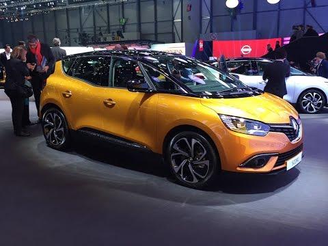 Новый Renault Scenic яркий дебют в Женеве
