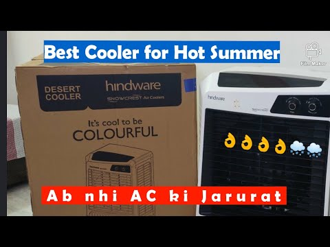 Hindware Snowcrest 60 Litres Desert Cooler Unboxing and Complete Review