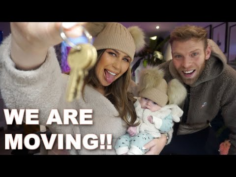 FIRST GLIMPSE OF OUR NEW HOME!! AND MY BABY CLOTHES MUST HAVES 😍 VLOG 26 of my Motherhood journey...