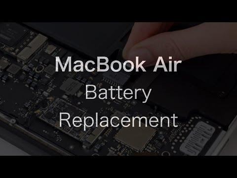 MacBook Air Liquid Damage Repair: Battery Replacement | The PowerPC Hub