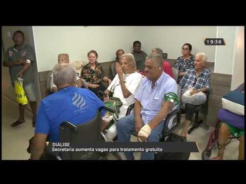 Diálise: Secretaria aumenta vagas para tratamento gratuito