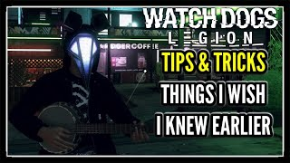Things I Wish I Knew Earlier in Watch Dogs Legion (Tips & Tricks)