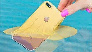 11 GENIALES IDEAS PARA FUNDAS DE TELÉFONO QUE PUEDES HACER TÚ MISMO / TRUCOS SECRETOS EN TU TELÉFONO