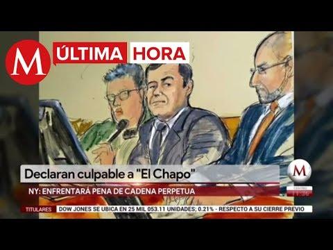 ÚLTIMA HORA: Declaran culpable a 'El Chapo' en juicio en NY
