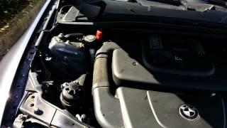 BMW E90 320D bruit (chaîne?)