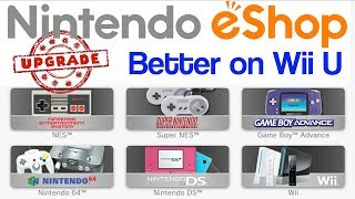 Nintendo eShop on Wii U 2018 - Better than Switch