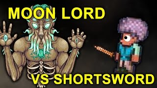 Copper Shortsword Vs. Moon Lord! [10K subs!]