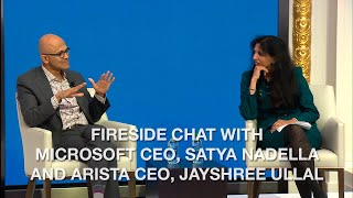 Fireside Chat with Microsoft CEO, Satya Nadella an ...