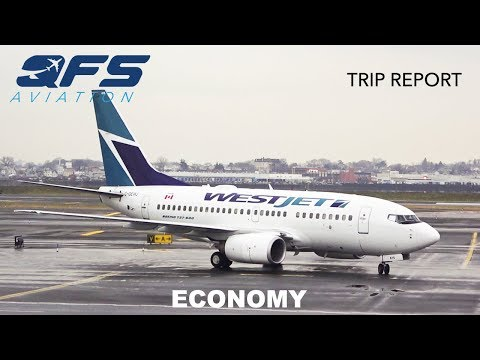 TRIP REPORT | WestJet - 737 600 - New York (LGA) to Toronto
