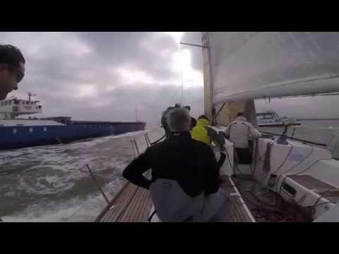 Antwerp Race 2015 Seen On Board Moana