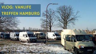 Vanlife & Wohnmobil Treffen Hamburg VLOG - Geht auch ohne Bus 😅