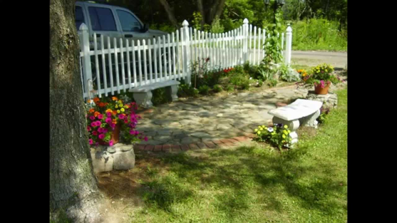 Creative Country cottage garden decorating ideas - YouTube