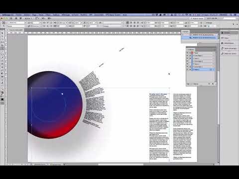 InDesign: Circle Text