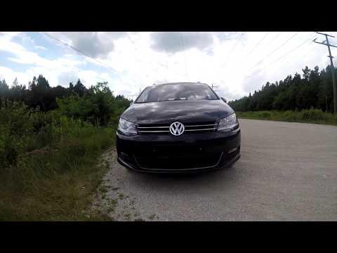 ОБЗОР Volkswagen Sharan 2.0 Tdi 2012   Новый кузов   177 PS  