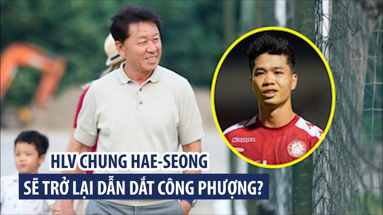 Sốc: Chia tay chưa tròn 1 tháng, HLV Chung Hae-seong sẽ quay lại dẫn dắt CLB TP.HCM?
