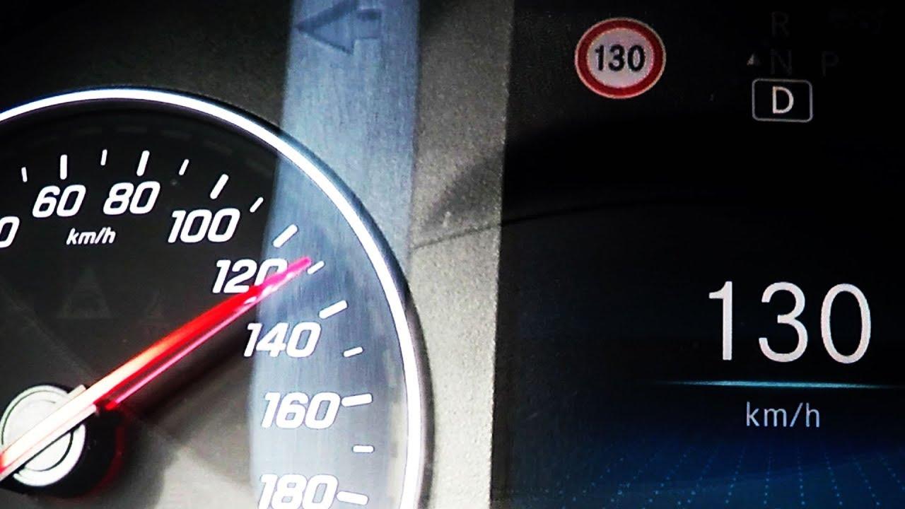 2018 Mercedes Benz Sprinter 316 Cdi Tourer 0 100 Kmh Kph 60 Mph Tachovideo Acceleration