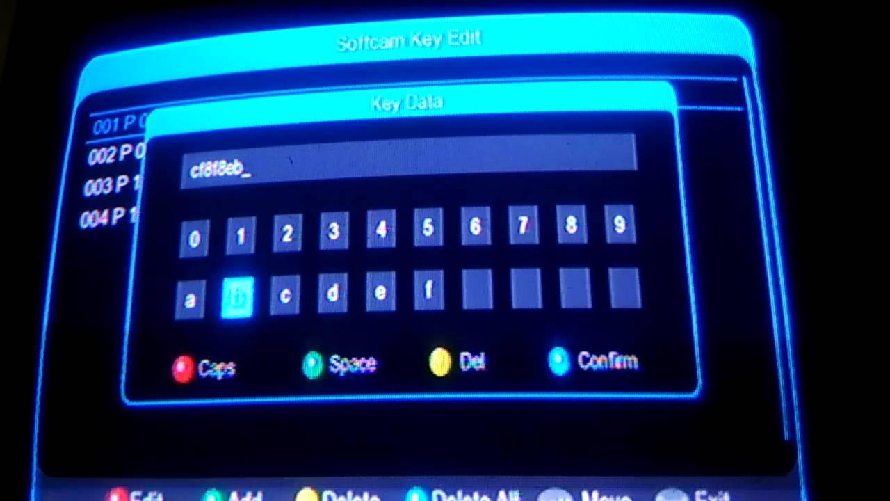 How to enter Power Vu Keys In Neosat 560d