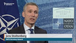 "NATO Chief Not Shocked By Trump's ""Blunt And Direct"" Speech"