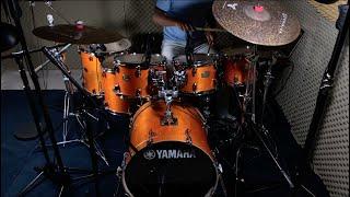 Yamaha Stage Custom Birch🥁💥& Tarnished dark series by Dominion Cymbals