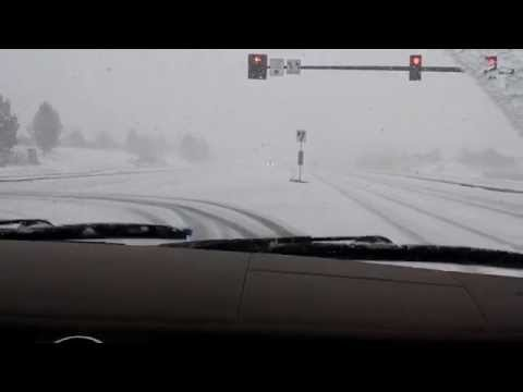 Snow Storm Centennial, CO 2/21/15 On the Road